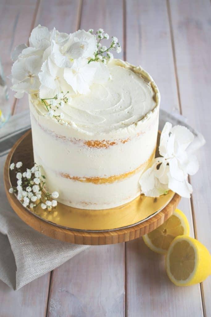 Lemon Elderflower Royal Wedding Cake