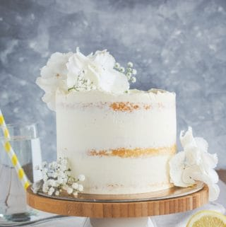 Lemon Elderflower Cake