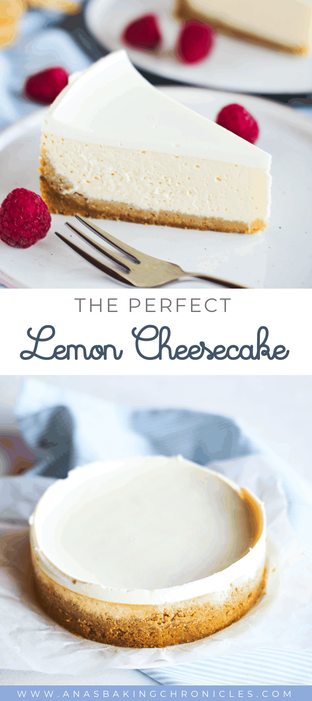 This is the lightest and the creamiest cheesecake you'll ever, EVER eat! It perfectly balances the tartness and the sweetness of the cake and has a texture that melts in your mouth. Scrumptious! ⎪www.anasbakingchronicles.com