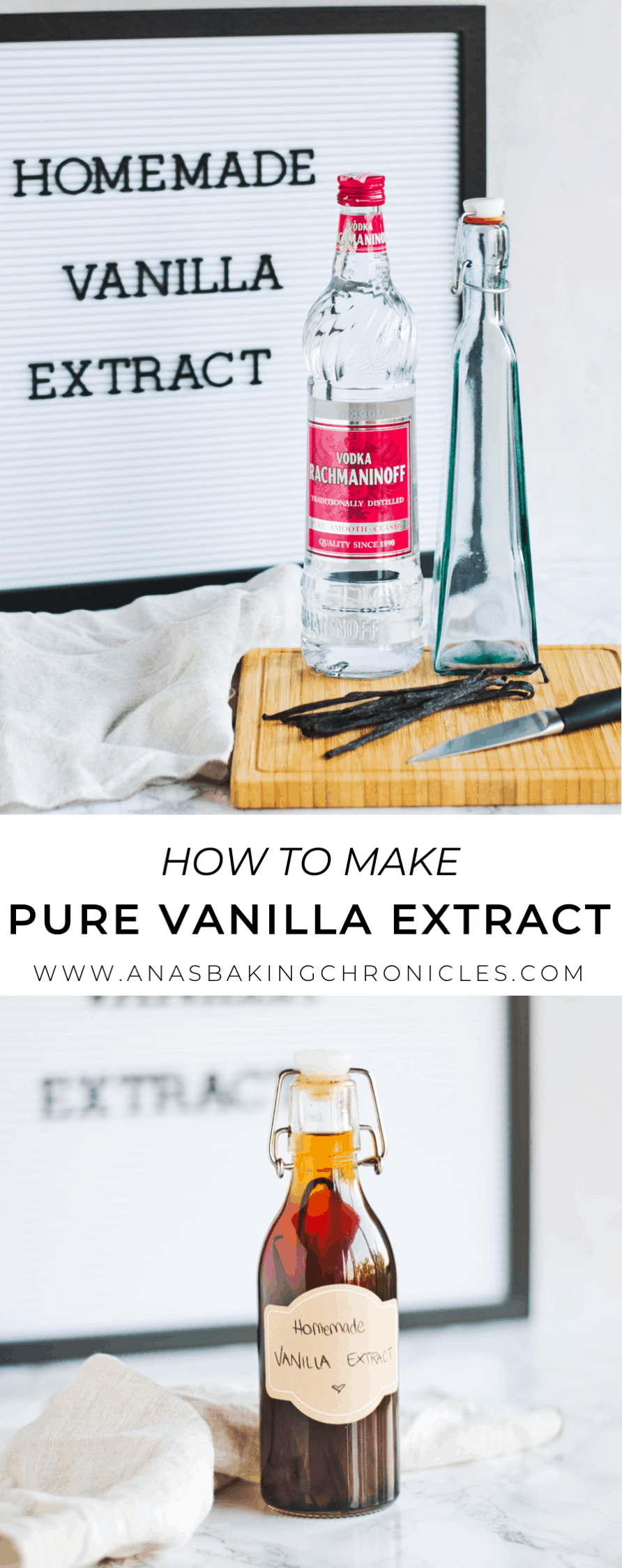 How to make pure vanilla extract