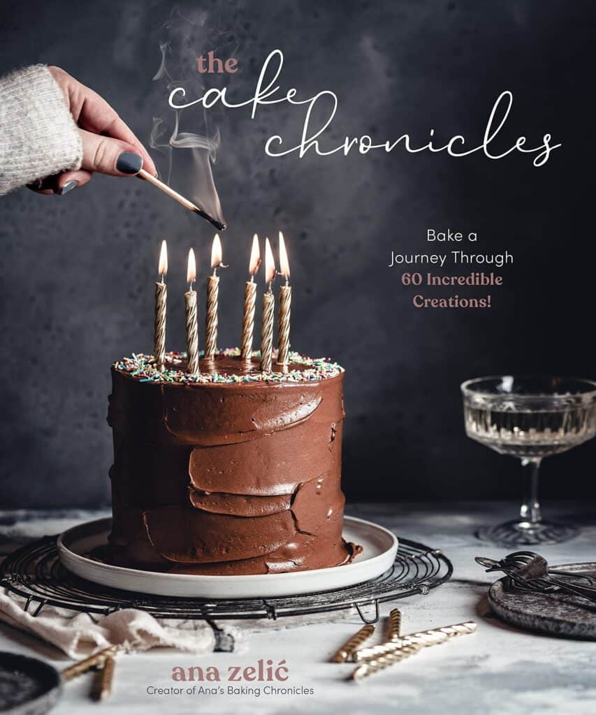 The cover of The Cake Chronicles Cookbook